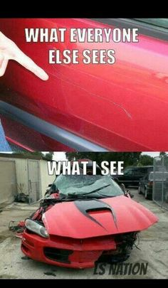 Absolutely true for any car lover
