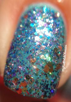 My Nail Polish Obsession: Summer of Untrieds day 28: Shimmer
