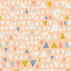 Mojawe Opaque Fabric Tule Fabric by Leah Duncan for por FabricBubb