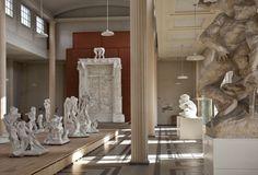 Vue d'une salle du musée Rodin Meudon