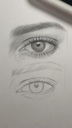 drawing eyes step by step realistic ~ drawing eyes ; drawing eyes step by step ; drawing eyes step by step easy ; drawing eyes step by step realistic Dark Art Drawings, Pencil Art Drawings, Art Drawings Sketches, Eye Pencil Drawing, Eye Drawings, Indie Drawings, Drawings Of Birds, Cute Drawings Of People, Beautiful Pencil Drawings