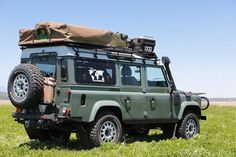 Land rover Defender 110- safari. Too nice.