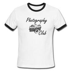 Photo Club T-Shirts - Men's Ringer T-Shirt