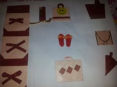 paper craft envelope , cone,sleeper,bucket and card