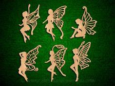SLDK378 - Filigree Fairy Ornaments