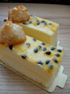 Crumbs and Cookies.: Souffle Cheesecake and White Chocolate Passionfruit Mousse Entremet