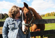 A sanctuary for rescued thoroughbreds