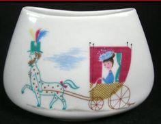 Peynet 8 x 11 cm Earthenware, Porcelain, Vase, Ceramics, Artist, Decor, Ceramica, Porcelain Ceramics, Pottery