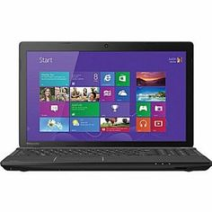 Toshiba C55-A5182 16-Inch Laptop (2.4 GHz Intel i3 4000M Processor, 6GB RAM, 750GB Hard Drive, SuperMulti DVD Drive, Windows 8.1) by Toshiba...