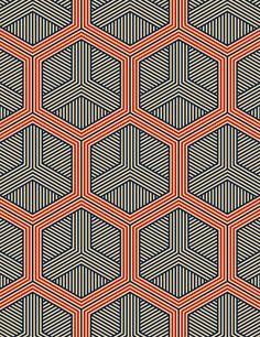 Hexagon No. 1 Art Print   layers of honeycomb
