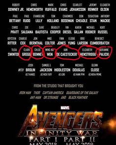 Forget the circled ones loOK AT THE LINE ABOVE!!!! THE NETFLIX HEROES!!!!!!! (though I don't see aaron, maybe they're gonna keep him a secret, I really need quicksilver to come back)