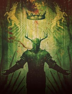 The King of Summers End by Jason Engle ~ Game of Thrones Art