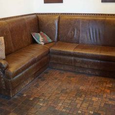 Distressed Leather Design Ideas, Pictures, Remodel, and Decor - page 3