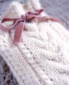 I know it's knitting not crochet but it's beautiful