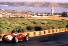 Dan Gurney, Ferrari Dino 246, Portuguese Grand Prix 1960...