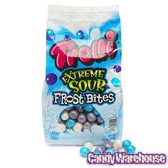 Trolli Extreme Sour Frost Bites Candy: 12-Ounce Bag