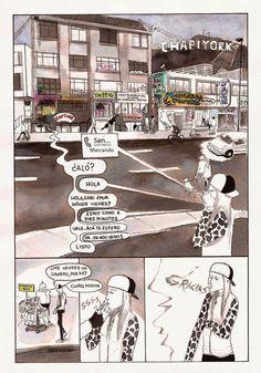Memorias de una dibujante responsable y otros cuentos sobre Superchicas.: Alguien a Quien Solía Conocer Página 1