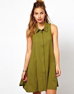 Enlarge Glamorous Western Shirt Dress