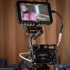 Convergent Designs A7s Movcam cage with the Odyssey 7Q+ -- see the review at http://eriknaso.com/2015/01/25/convergent-design-odyssey-7q-hands-on-review/