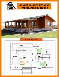 Modern Bungalow House Design, Modern House Floor Plans, Cottage Floor Plans, Ranch House Plans, Best House Plans, Small House Plans, Wooden House Plans, Wooden House Design, Country House Design