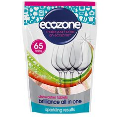 Ecozone Brilliance All In One Vaatwastabletten (65 stuks)