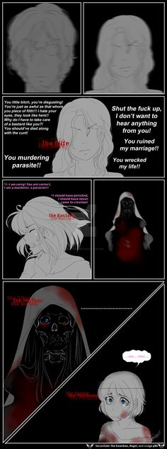 SecuriTale: The Guardian, Angel, and Judge 06 by tekiriku on DeviantArt Underfell Comic, You Ruined Me, Undertale Au, The Guardian, Angel, Deviantart, Comics, Movie Posters, Videogames