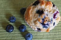 Were the best yet! Buttermilk Blueberry Muffins--add cinnamon and cup strawberries and use half whole wheat or unbleached flour. Unbleached Flour, Best Yet, Blue Berry Muffins, No Bake Desserts, Baked Goods, School Today, Blueberry, The Best, Breakfast Recipes