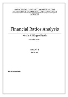 Financial Ratios Series  Activity Ratios Part  At HttpWww