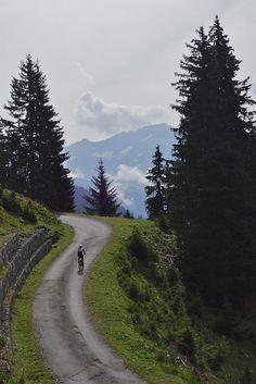 Mountain biking in Villars-sur-Ollon, Switzerland #biking #Villars