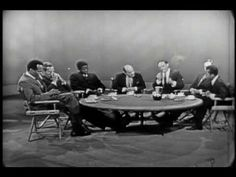 "Marlon Brando, James Baldwin, Harry Belafonte, Charlton Heston, Joseph Mankiewicz , and Sidney Poitier discuss the Civil Rights Movement, on the same day as MLK's ""I have a dream"" speech. August 28, 1963."