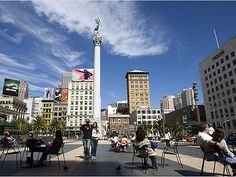 Union Square Shopping,   San Francisco, California.      One of the trendiest areas of San Francisco.  Exploring Union Square favorites like Saks Fifth Avenue, Gucci, Luis Vutton, Kate Spade, Macys, Betsy Johnson and more!