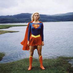 Helen Slater as Supergirl DC Comics Superman Helen Slater Supergirl, Supergirl Movie, Supergirl Superman, Batgirl, Batwoman, Indiana Jones, Superman Film, Lying Game, Cinema Tv