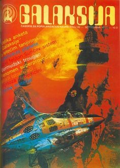 Galaksija - Science magazine cover  Galaksija - Časopis za popularizaciju nauke    [ Sep 1977 ]