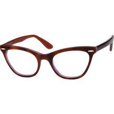 9c585603c7 Brown Cat-Eye Eyeglasses  487615