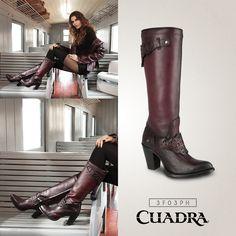 Un vino irresistible. #moda #botas #mujer #boots #comprasonline