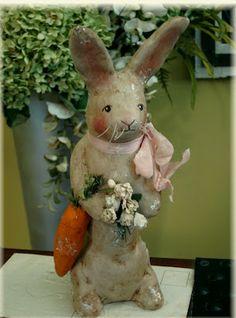Vintage style bunny
