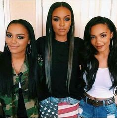 """Remember them from """"Daddy's Little Girls?"""" The McClain sisters have grown into beautiful young women! (L to R) China Anne McClain (16) Sierra McClain (21) and Lauryn McClain (18)."""