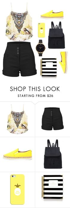 """Untitled #23"" by melani-mazic ❤ liked on Polyvore featuring LE3NO, Jimmy Choo, Casetify, Day Designer and Olivia Burton"