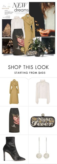 """New Dreams"" by thewondersoffashion ❤ liked on Polyvore featuring Prada, Giambattista Valli, Isa Arfen, Sarah's Bag, Jimmy Choo and Isabel Marant"