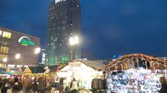 The Christmas Market at Alexanderplatz.