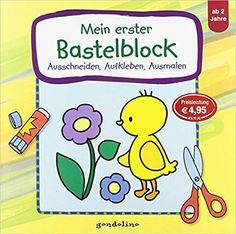 Mein erster Bastelblock Küken : Ausschneiden, Aufkleben, Ausmalen: Amazon.de: Kristin Labuch: Bücher