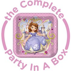 Sofia the First Party in a Box from BirthdayExpress.com