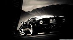 Ford Gt Black Wallpaper 1080p HD