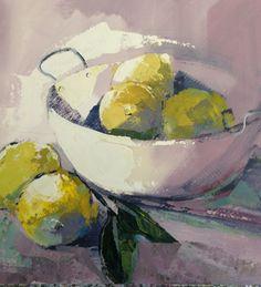 In yellow Wine Painting, Food Painting, Wine And Paint Night, Flower Art, Art Flowers, High School Art, Painting Still Life, Fruit Art, Food Art