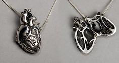 [realistic] heart necklace!
