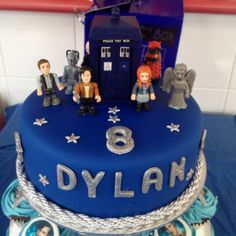 I need to start Lydia on Doctor Who. Doctor Who Birthday, Doctor Who Party, 8th Birthday, Birthday Parties, Birthday Stuff, Birthday Cakes, Birthday Ideas, Syn Free Gravy, Dr Who Cake