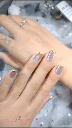 Cat Nail Designs, Nail Art Designs Videos, Nail Art Videos, Nail Design Video, Cat Nails, Pink Nails, Cat Nail Art, Gorgeous Nails, Pretty Nails
