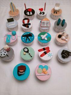 Cupcakes de Hobbies