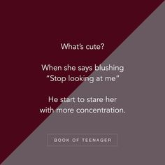 His one look will ruin my sorrow.I suddenly widen to a grin my cheeks turn pink. Teenage Love Quotes, True Love Quotes, Bff Quotes, Girly Quotes, Best Friend Quotes, Love Quotes For Him, Romantic Quotes, Crush Quotes, Qoutes