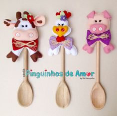 Studio raindrops of love: Wooden Spoon Decorated Farm Crafts, Country Crafts, Diy And Crafts, Crafts For Kids, Arts And Crafts, Sewing Crafts, Sewing Projects, Projects To Try, Wood Plant Stand